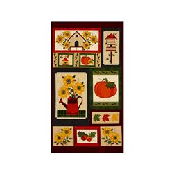 "Harvest Song 23.5"" Panel Spice"