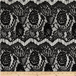 Lace Romantic Floral Black