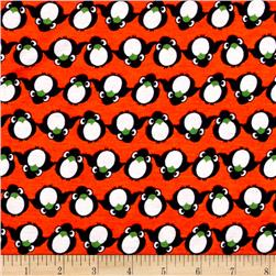 Jersey Knit Penguin Orange