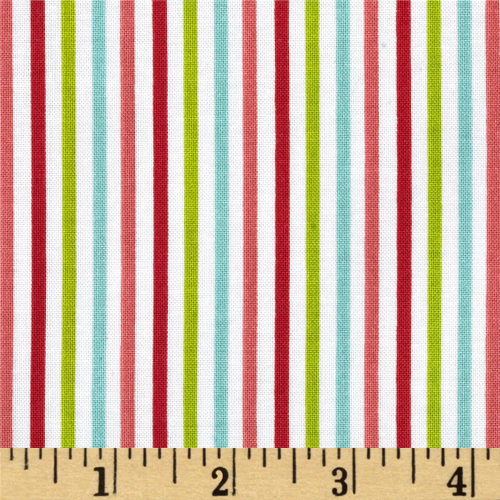 Riley Blake Merry Matryoshka Stripe Multi
