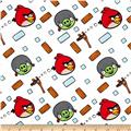 Angry Birds Flannel Bounce White