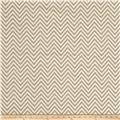 Come Sit A Spell Chevron Cream/Gray