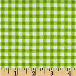 Newcastle Novelties Gingham Lime