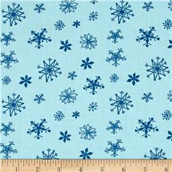 Winter Wonderland Snowflakes Rainwater