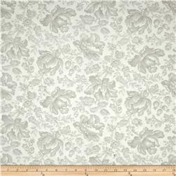 Moda Whitewashed Cottage Damask Linen-Pebble