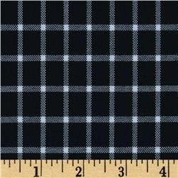 Uniform Plaid Navy/White