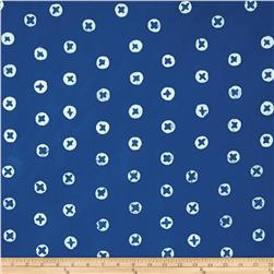 Alison Glass The Blues Batik Dots Blue