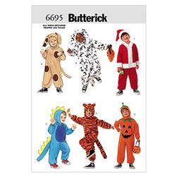 Butterick Children's Costume Pattern B6695 Size OSZ