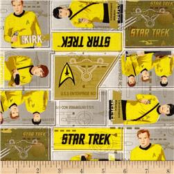 Star Trek Uniforms Yellow