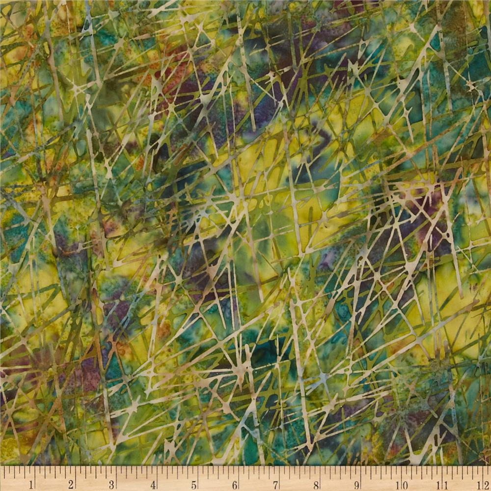 Bali Batiks Handpaints Sticks Texture Fern