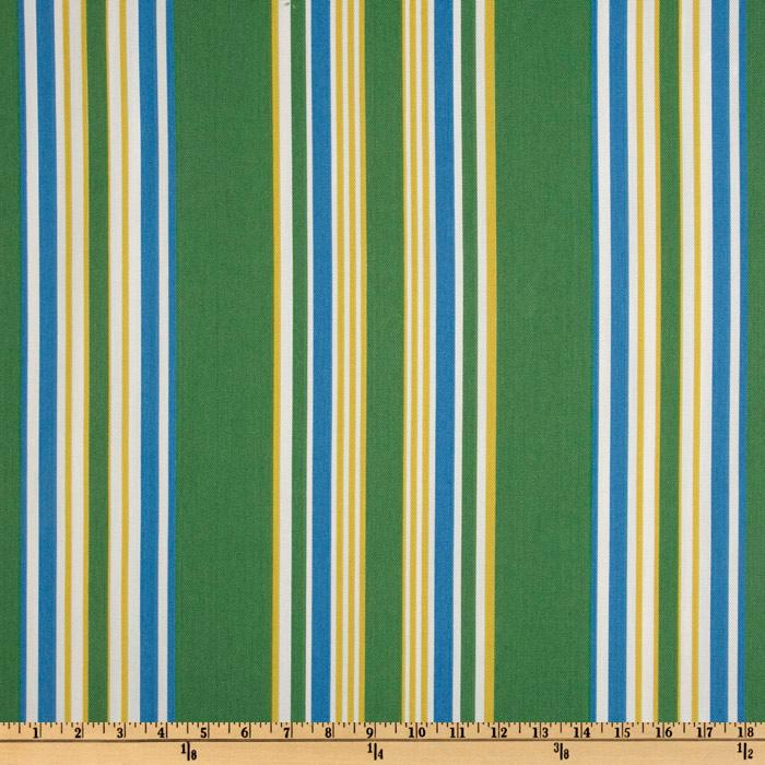 Suburban Home Indoor/Outdoor Brazabon Stripe Summer