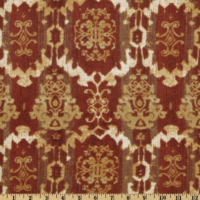 Designer Stretch Rayon Tissue Jersey Knit Wallpaper Brick