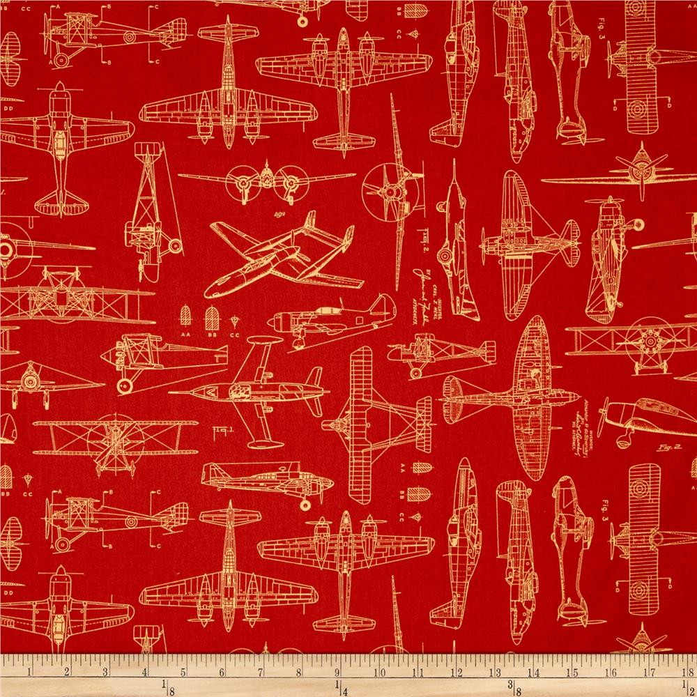 Aviator Plane Blueprints Ketchup