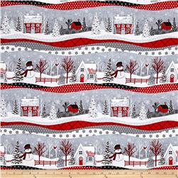 Holiday Homecoming Novelty Stripe Multi