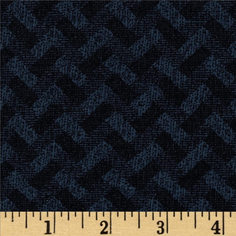 Madison Basketweave Black