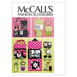 McCall's Electronic Device Carrying Case In 2 Sizes and E-Reader Cover In 3 Sizes Pattern M6477 Size OSZ