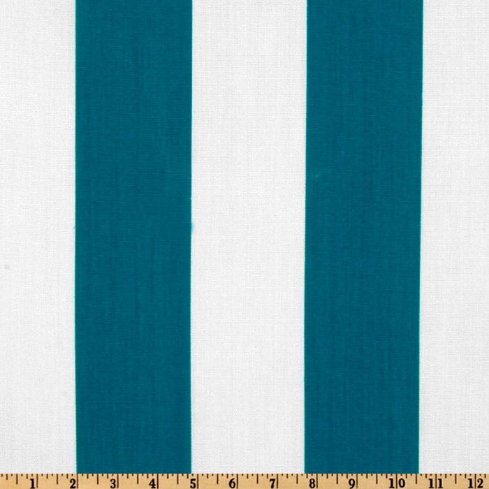 Premier Prints Indoor/Outdoor Vertical Stripe Blue Moon