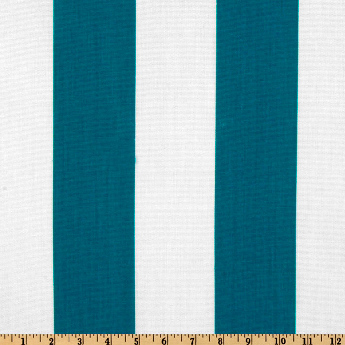 Premier Prints Indoor/Outdoor Vertical Stripe Blue Moon Fabric