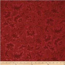 Moda Midnight Clear Jacobean Damask Crimson Glow