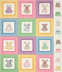 Dolly Dear Dress-Up Panel Multi