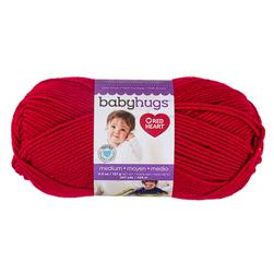Red Heart Baby Hugs Medium Yarn, Ladybug