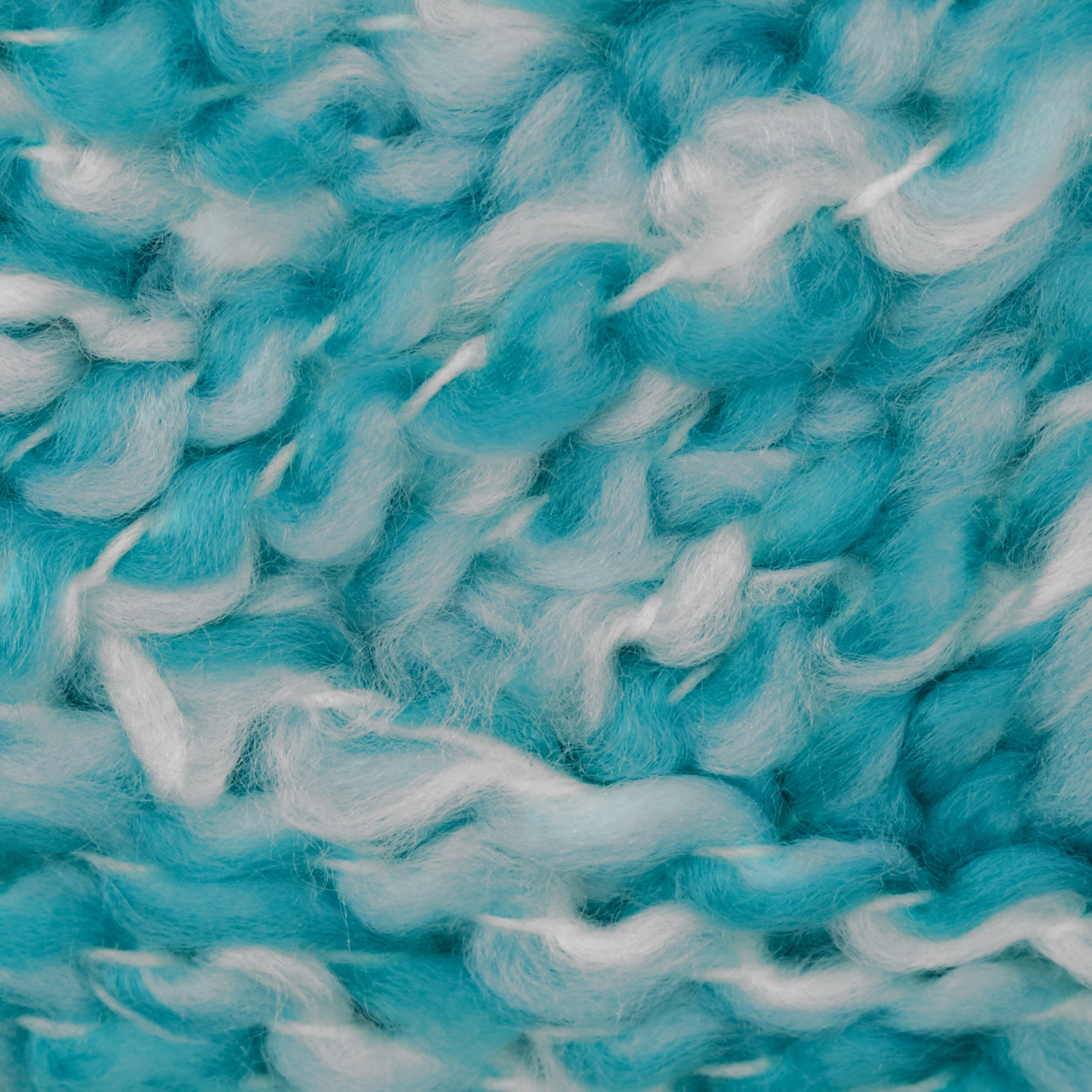 Bernat Soft Boucle' Yarn (46742) Pacific Blue