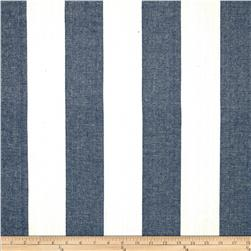 Covington Riley Vertical Stripe Denim Blue
