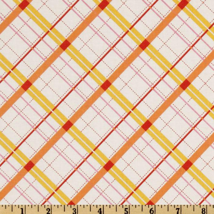Riley Blake Avignon Plaid Yellow