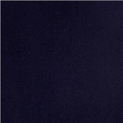 Poly/Cotton Twill Fabric  Midnight Blue