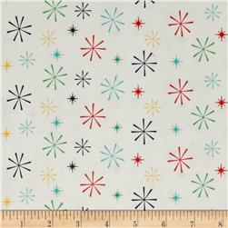 Riley Blake Nutcracker Christmas Snowflakes Multi
