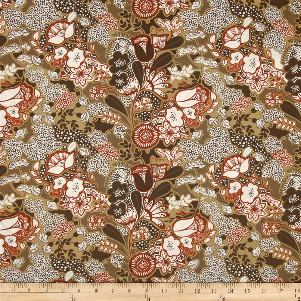 Birds and Blooms Spirit Brown