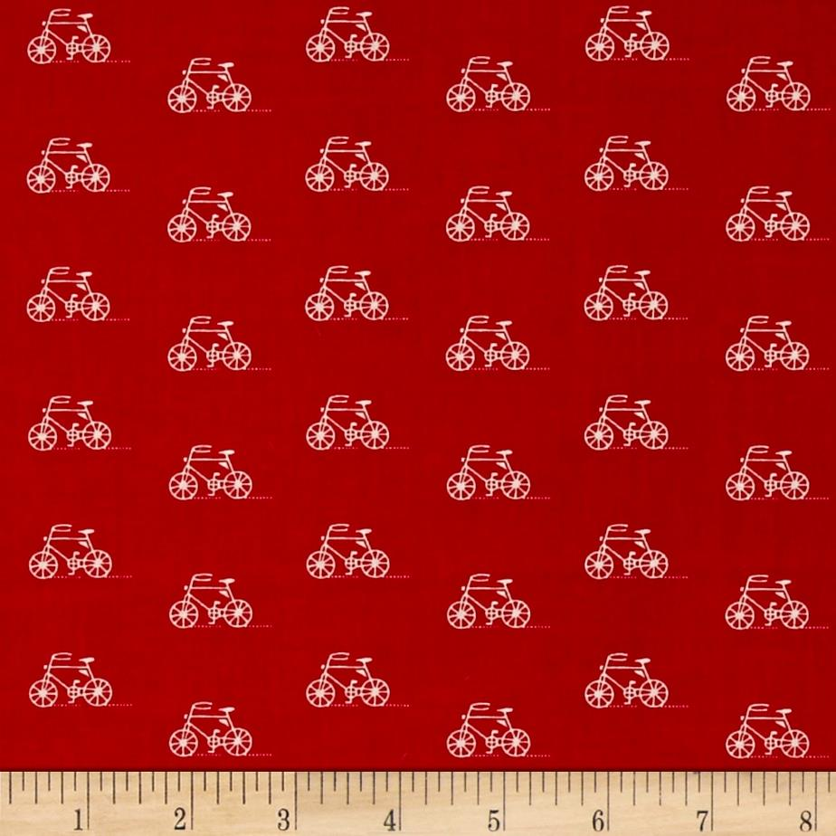 Kaufman London Calling Lawn Bicycle Red