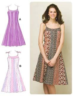 Kwik Sew Princess Pieced Dresses Pattern