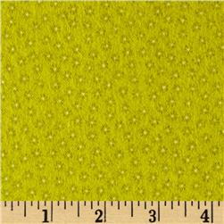 Riley Blake Happy Flappers Flannel Petal Green