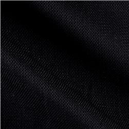 Cotton Linen Pique Knit Black