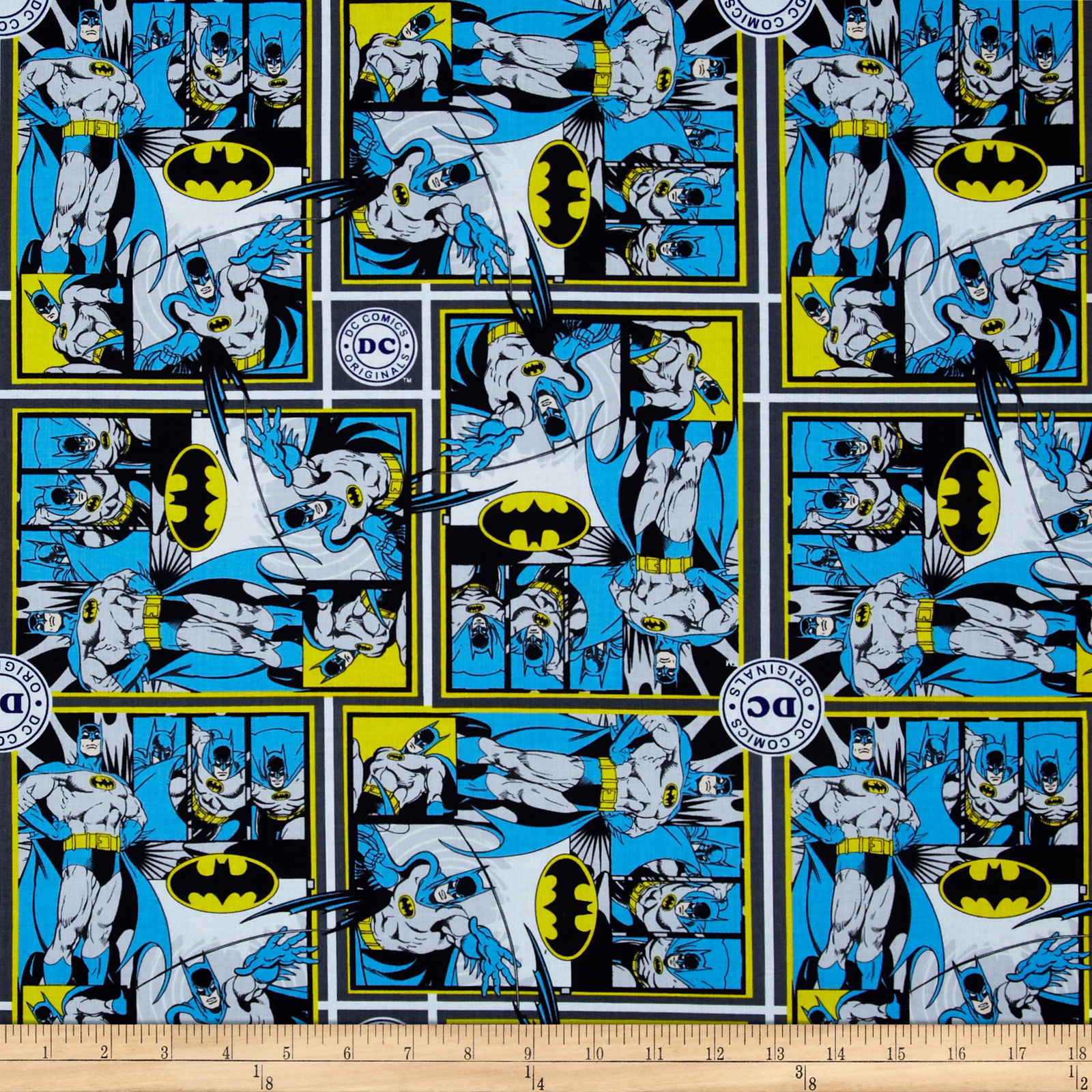 DC Comics Batman Multi Fabric