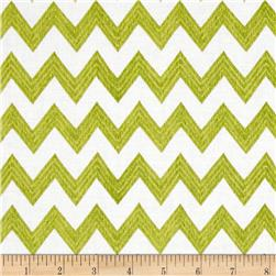 Poppy Patio Chevron Green