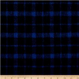 Telio Arlene Wool Plaid Blue/Black