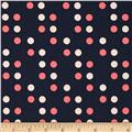 Cotton & Steel Lucky Strikes Dime Store Dot Navy