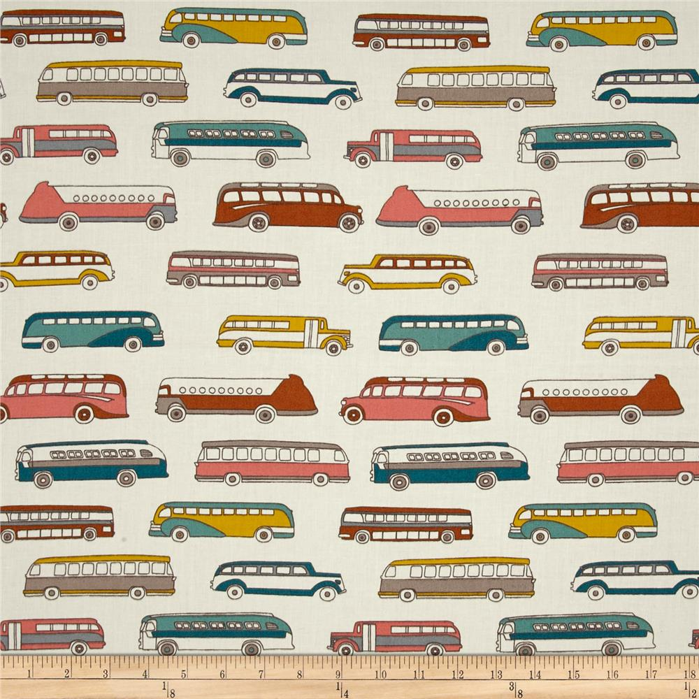 Birch Organic Trans Pacific Retro Bus Cream/Multi