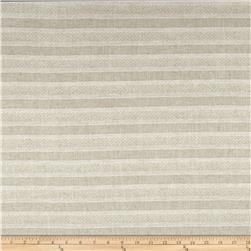 Alpine Linen Slim Stripe Natural