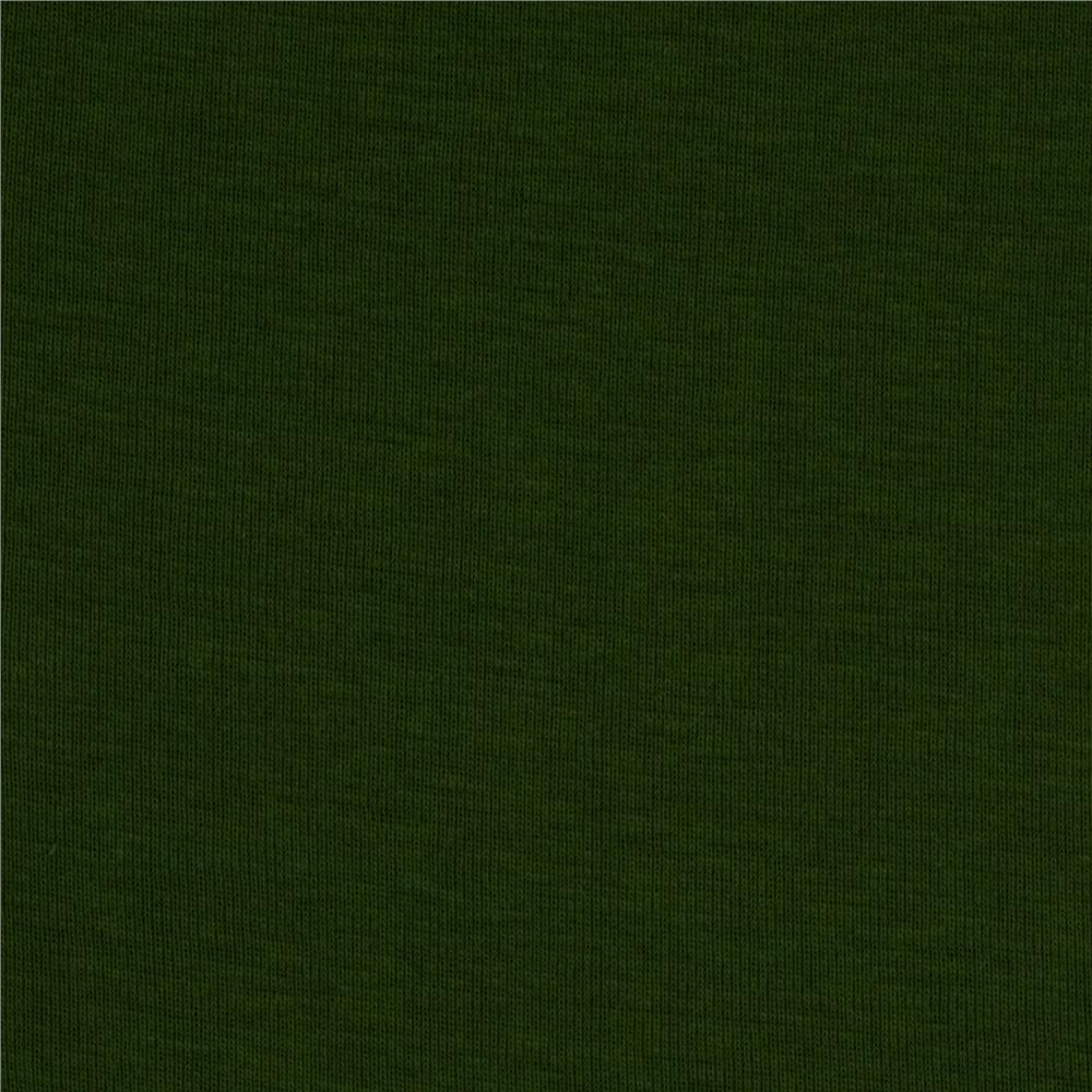 Organic Cotton Baby Rib Knit Olive
