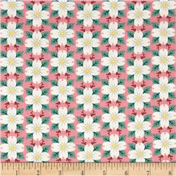 North Carolina State Flower Dogwood Pink/Green/White