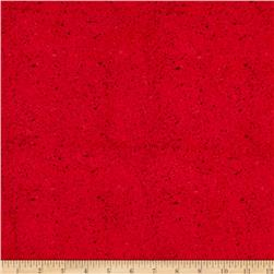 Essentials Spatter Medium Red
