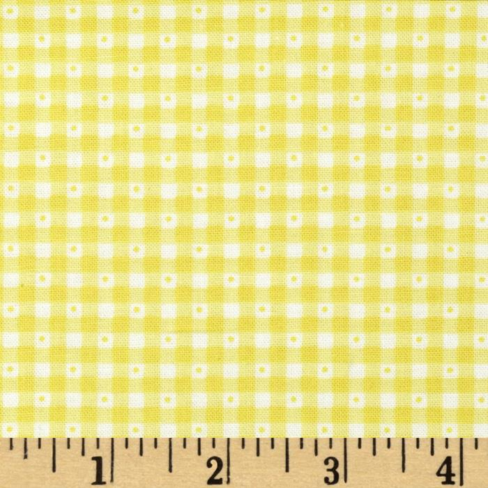 Sorbets Gingham Yellow