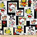 Ed Hardy Love Is True Patches Black