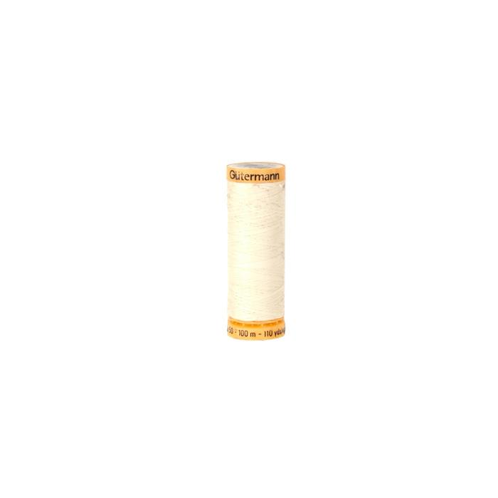 Gutermann 110/yd Maching Quilting Thread Light Nat