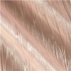Crinkle Organza Iridescent Blush Gold