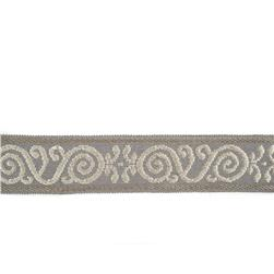 "Mount Vernon 2"" Ornament Trim Pewter"