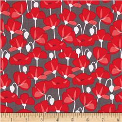 Riley Blake Desert Bloom Poppy Gray